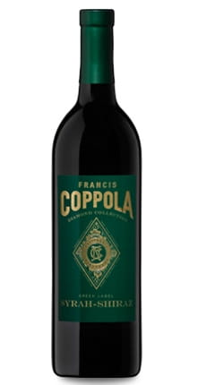 Francis Ford Coppola Winery, Green Label Diamond Series Syrah, 2017