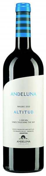 Andeluna Cellars, Malbec Andeluna Altitud, 2016/2018