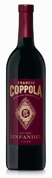 Francis Ford Coppola Winery, Red Label Diamond Series Zinfandel, 2017