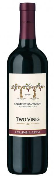Columbia Crest, Two Vines Cabernet Sauvignon, 2017