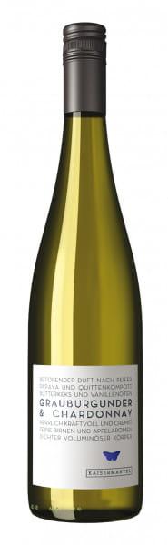 """Dr. Köhler, Grauburgunder & Chardonnay """"Kaisermantel"""" QbA trocken,2017"""