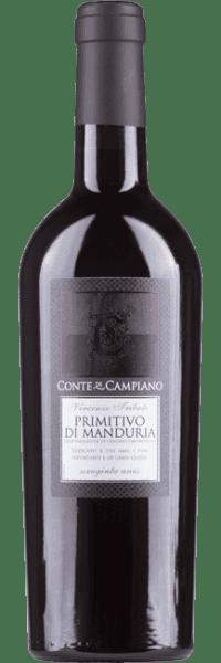 Conte di Campiano, Primitivo di Manduria, 2020